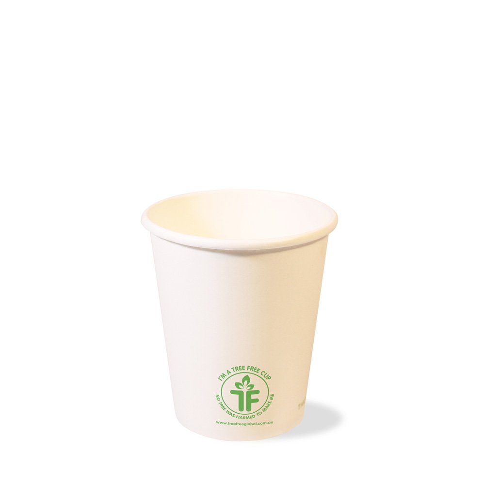 PLA 8oz Single Wall Hot Cup (80mm)