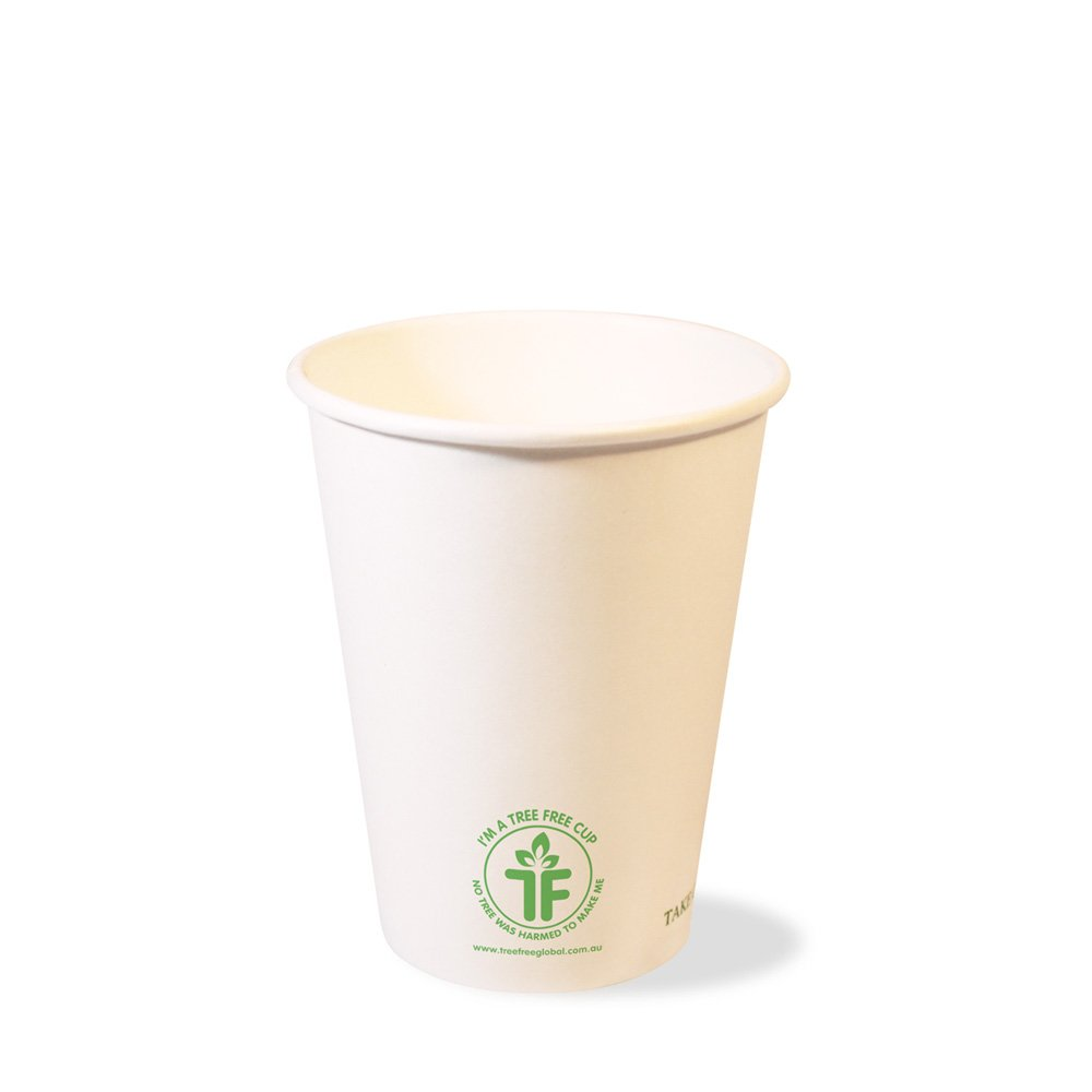 PLA 12oz Single Wall Hot Cup (90mm)