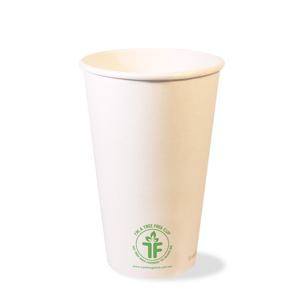 PLA 16oz Single Wall Hot Cup (90mm)
