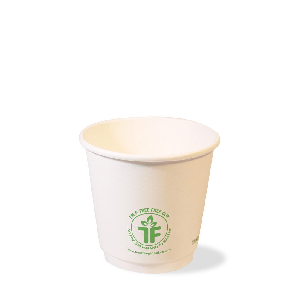 PLA 8oz Double Wall Hot Cup (90mm)