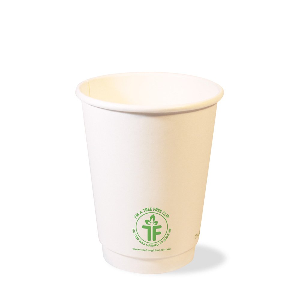 PLA 12oz Double Wall Hot Cup (90mm)