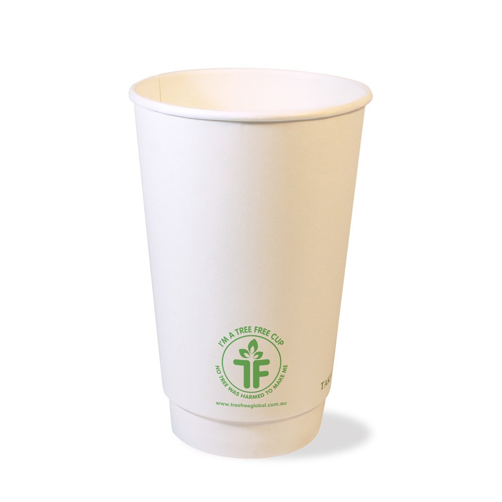 PLA 16oz Double Wall Hot Cup (90mm)