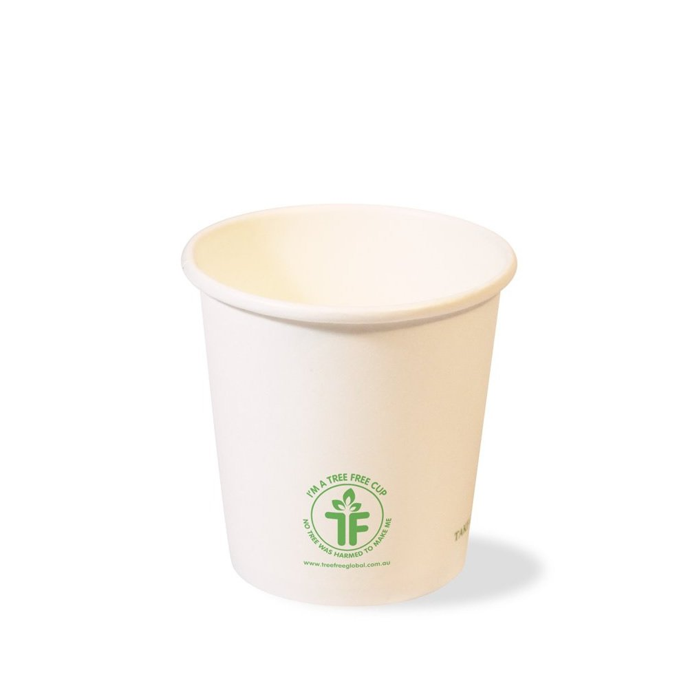 8oz Single Wall Hot Cup (90mm)