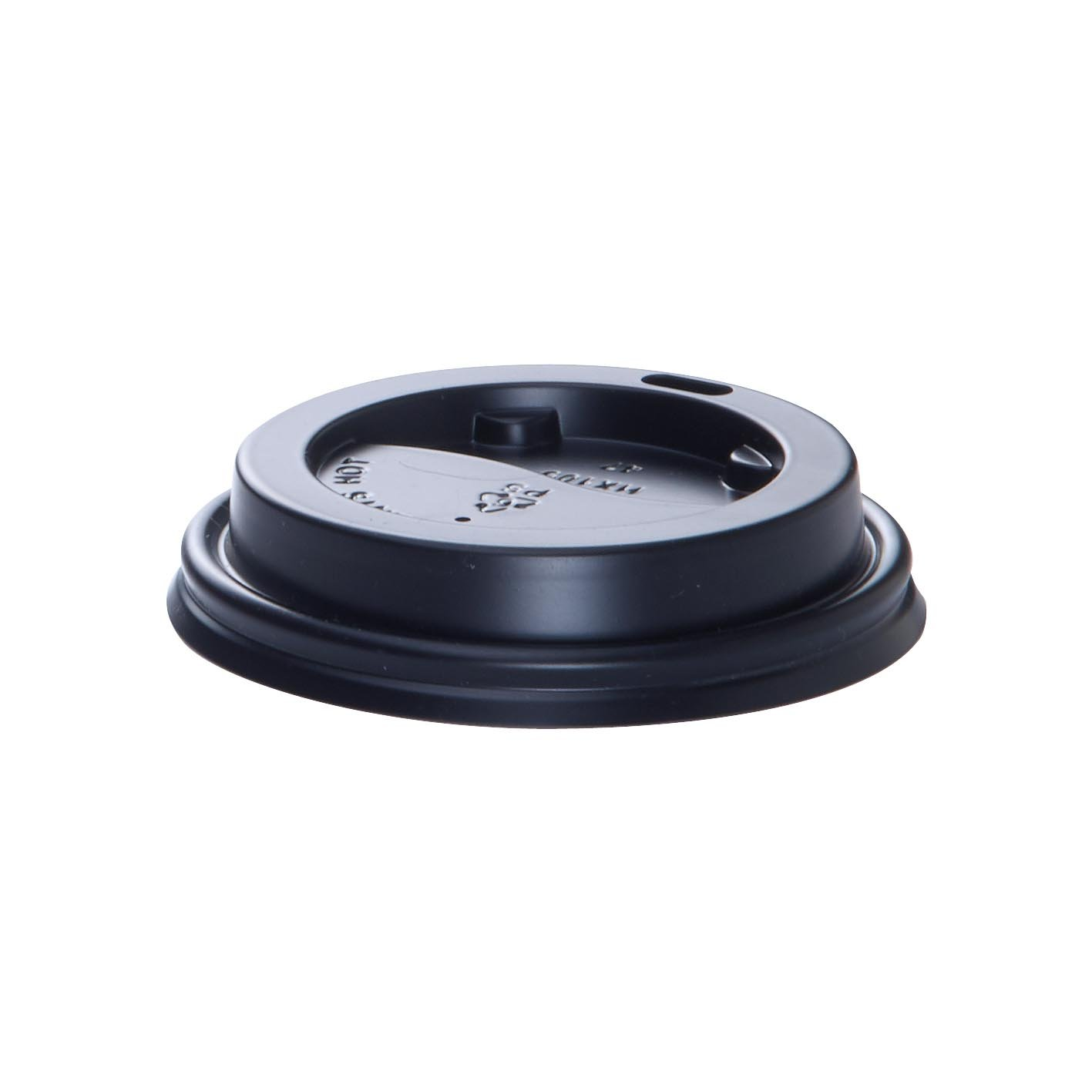 Lid (PS) - 80mm - Black